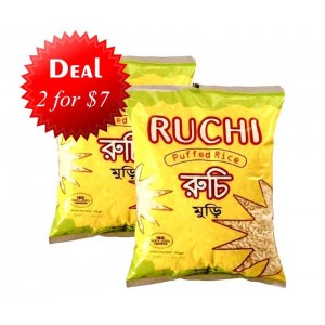 2 Ruchi- Puffed Rice for $7.00