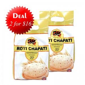 2 Mexim- Roti Chapati for $16.00
