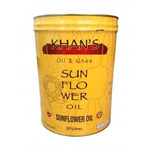 Khan's Sunflower Oil 20L