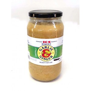 ICS- Garlic & Ginger (minced) 1Kg