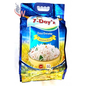 7-Day'z Basmati Rice 5kg