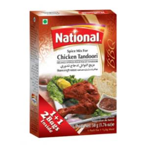 National Chicken Tandoori 50g